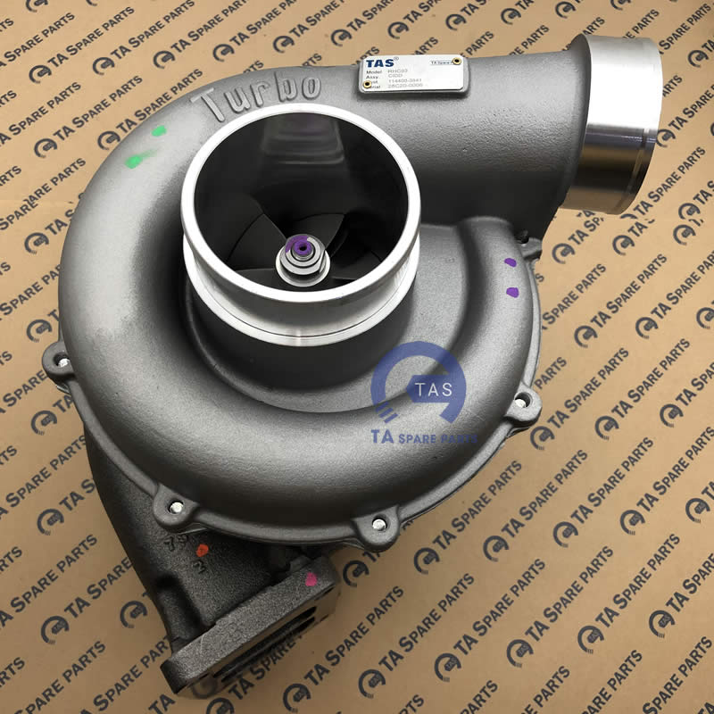 Turbo may cong trinh 6WG1T  RHC93