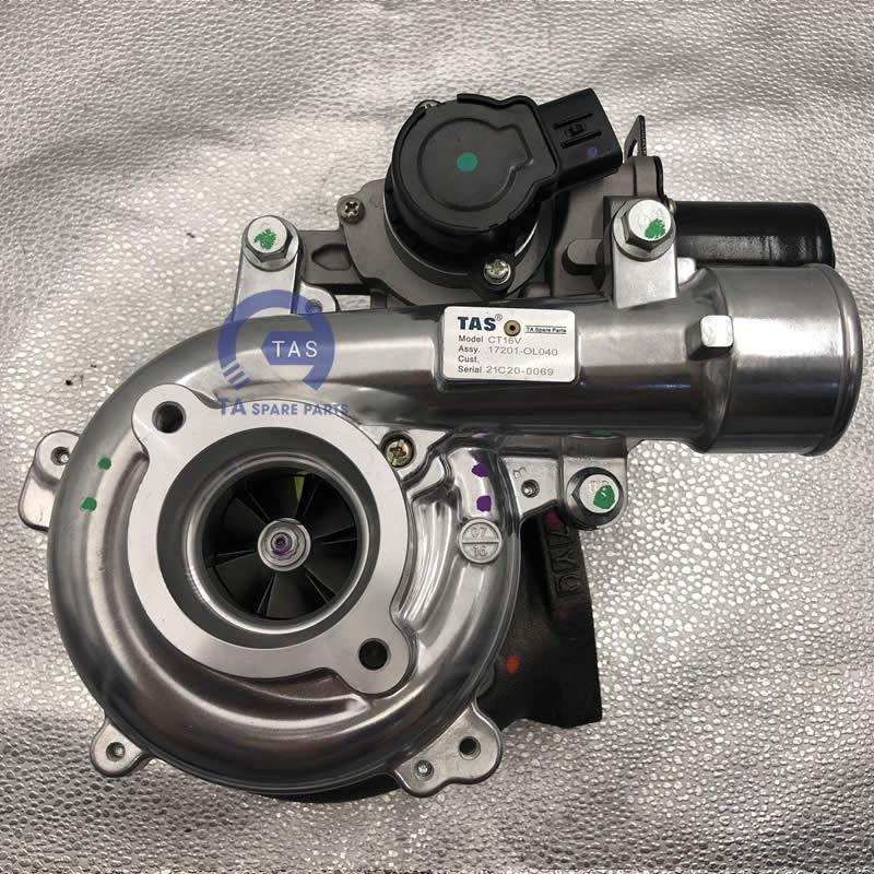 Turbo Toyota Hilux LandCruiser CT16V
