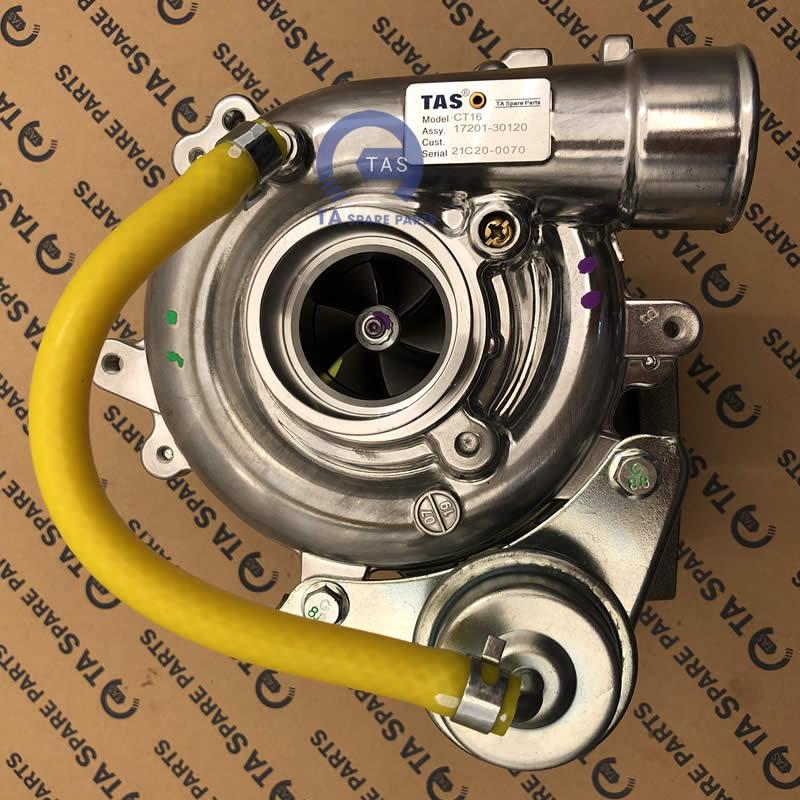 Turbo Toyota Hilux 2.5L 2KD FTV Fortuner 2KD CT16