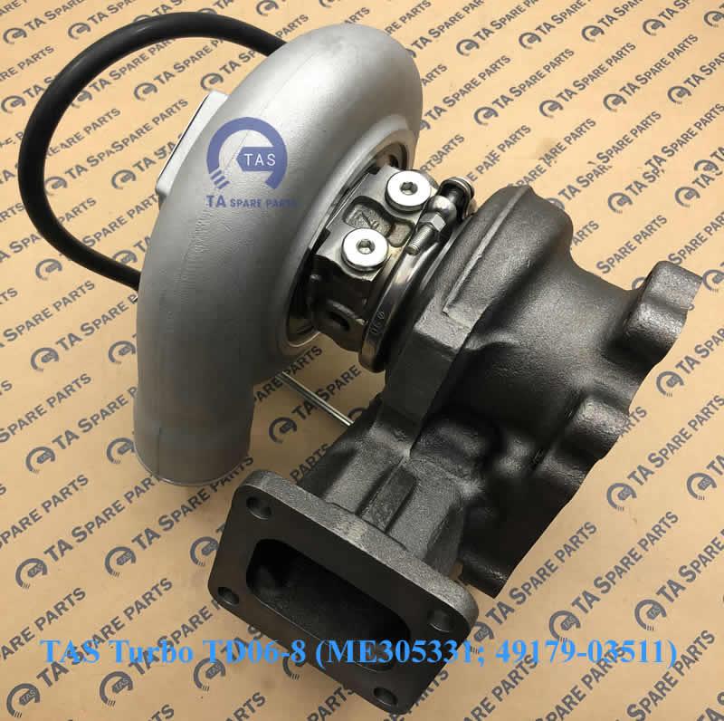 TAS Turbo tăng áp TD06-8 (ME305331; 49179-03511)