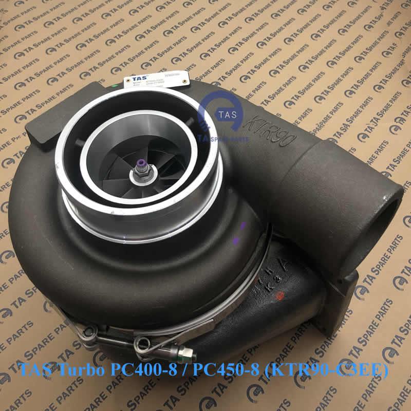 TAS Turbo tăng áp PC400-8 / PC450-8 (KTR90-C3EE) / PN 6506-22-5031