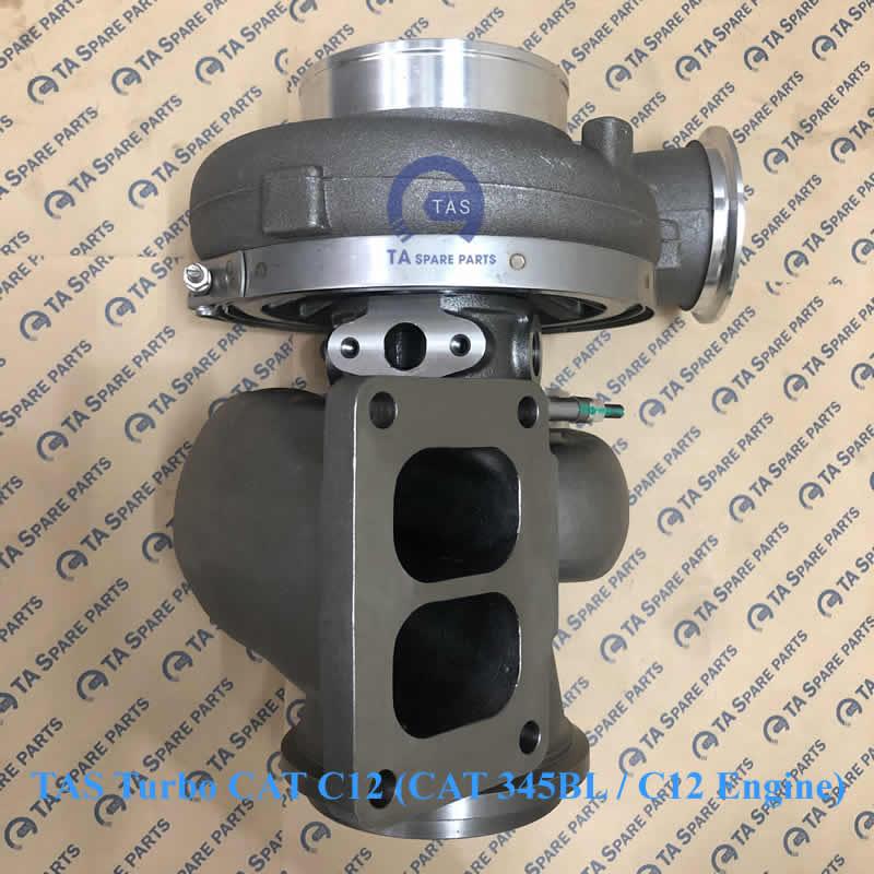 TAS Turbo tăng áp CAT C12 (CAT 345BL / C12 Engine / PN 135-5392)